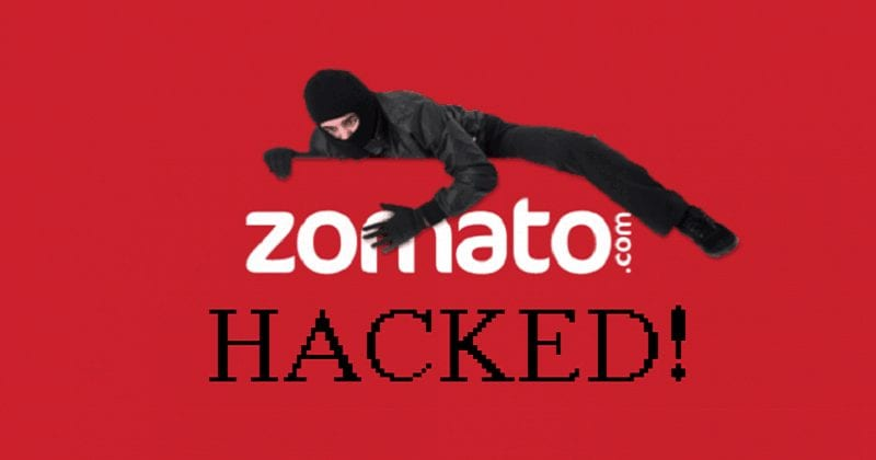 Zomato Hacked; 17 Million User Records Stolen And Put For Sale On Dark Web.