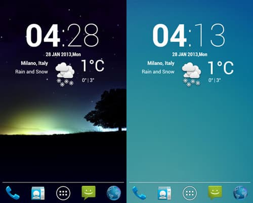 cLock-weather-15 Best And Beautiful Weather Widgets For Your Android Home Screens