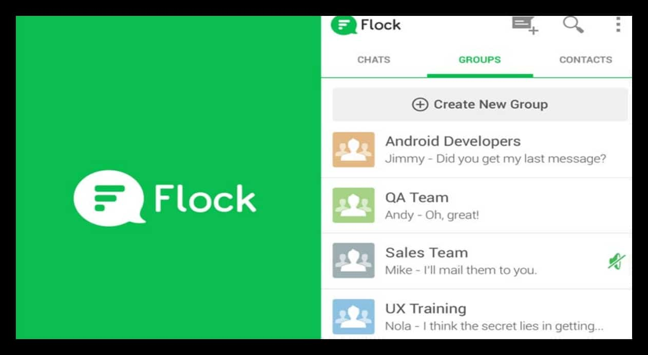 flock featured