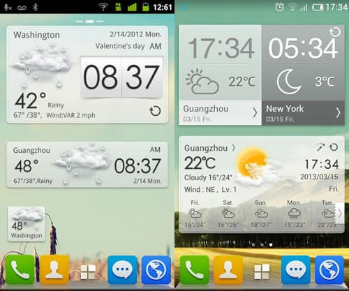 go-weather-15 Best And Beautiful Weather Widgets For Your Android Home Screens