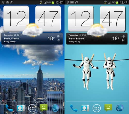 sense-v2-flip-clock-weather-widget-15 Best And Beautiful Weather Widgets For Your Android Home Screens
