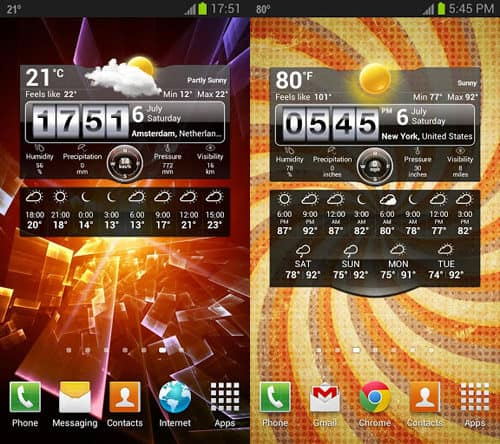 weather-live-15 Best And Beautiful Weather Widgets For Your Android Home Screens