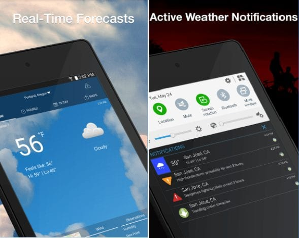 weatherbug-15 Best And Beautiful Weather Widgets For Your Android Home Screens