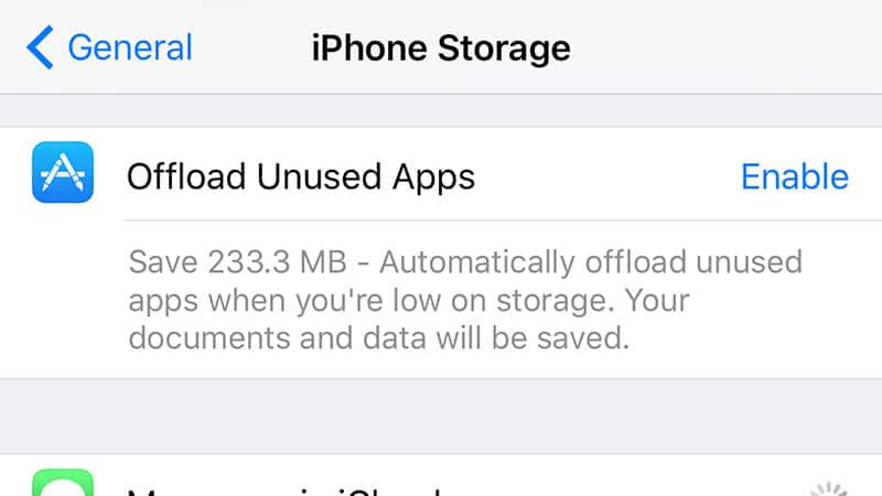App offloading-27 Awesome iOS 11 Features You Probably Haven't Heard of Yet
