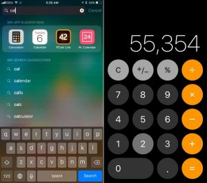 Calculator App and Icon Redesign-27 Awesome iOS 11 Features You Probably Haven't Heard of Yet