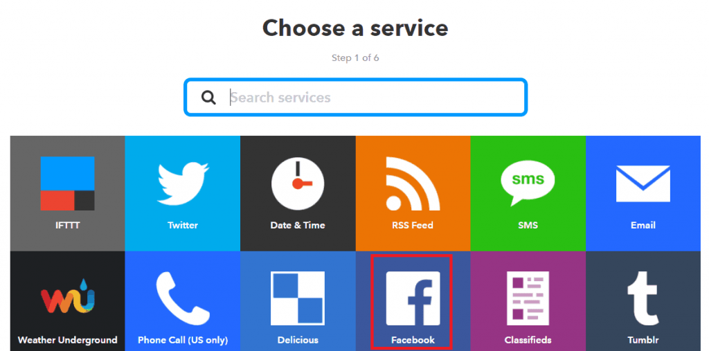 Choose a service _this.