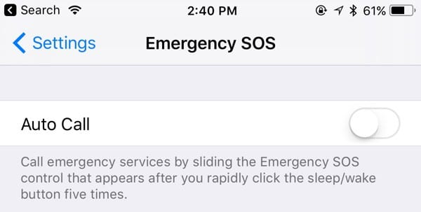 Emergency SOS-27 Awesome iOS 11 Features You Probably Haven't Heard of Yet
