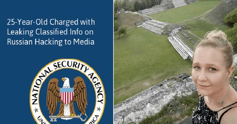 FBI Arrests NSA Contractor For Leaking Top Secret Russian Hacking Document To 'The Intercept