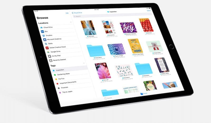 Files app-27 Awesome iOS 11 Features You Probably Haven't Heard of Yet