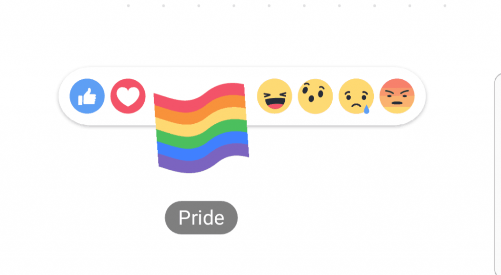 Here's How To Get The New Rainbow Pride Reaction On Facebook To Celebrate LGBT Pride Month (8)