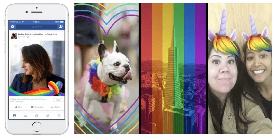Here's How To Get The New Rainbow Pride Reaction On Facebook To Celebrate LGBT Pride Month (9)