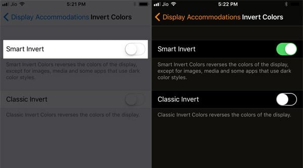 How To Enable Dark Mode On iOS 11 - Smart Invert Feature (15)