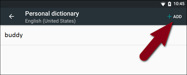 How to Define Your Own Auto-correct Words on Android's Built-in Dictionary (5)
