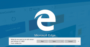 How to Disable Microsoft Edge Download Save Prompt in Windows 10