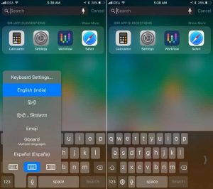 One Handed Keyboard-27 Awesome iOS 11 Features You Probably Haven't Heard of Yet