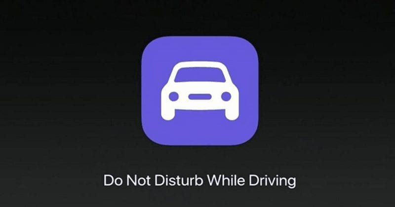 do not disturb while driving iphone ios feature