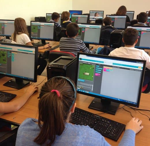 code teaching to children