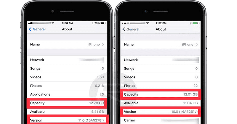 iOS 11 Takes Less Storage Space Compared To iOS 10. It Will Help Increase Storage Capacity.