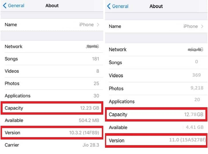 iOS 11 Takes Less Storage Space Compared To iOS 10. It Will Help Increase Storage Capacity1