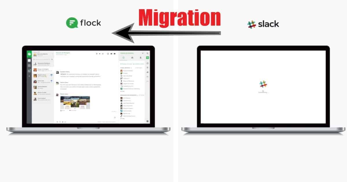 migrate slack to flock