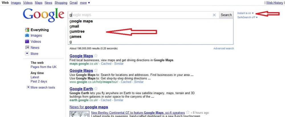 Google Kills Its 'Instant Search' Feature (2)