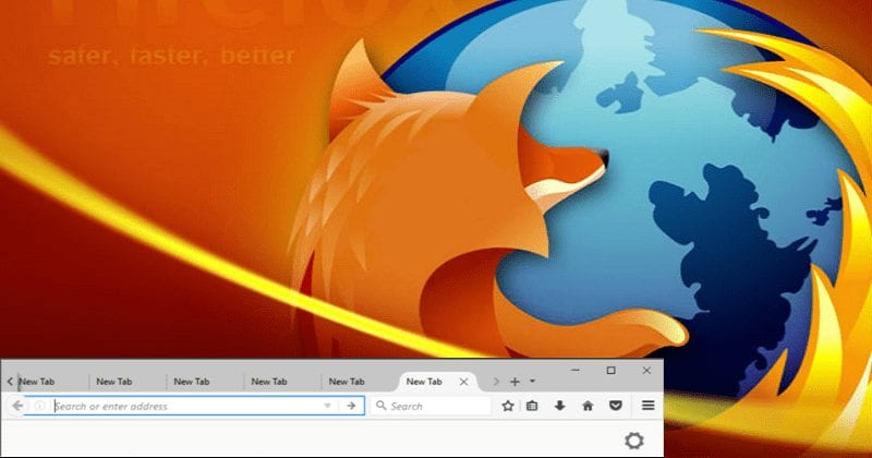 Mozilla firefox logo.