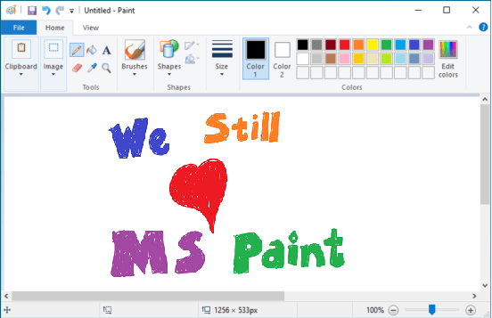 Ms paint not dead (2)