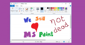 MS Paint Isn't Going Anywhere, It's Coming To Windows Store For Free – Microsoft Confirms