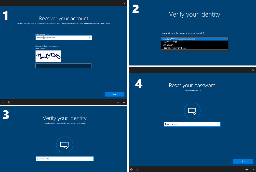 Windows 10 password recovery from lock screen (5)