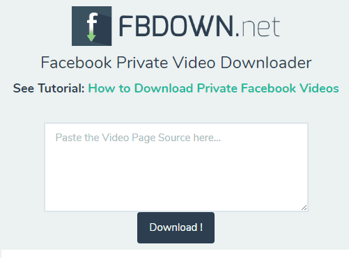 fbdown-private