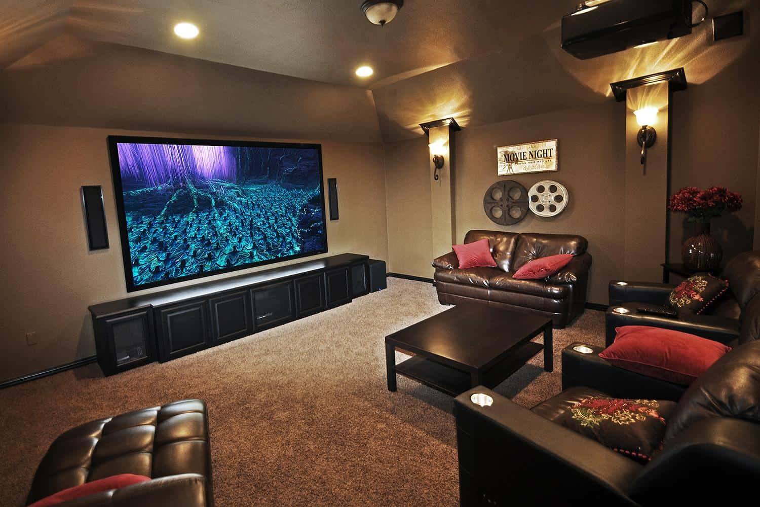 How to make home theater room - Home Theater Lighting