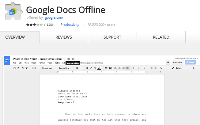 Access Google Drive Files Offline (2)