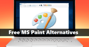 Best Free MS Paint Alternatives For Windows, Linux, MAC