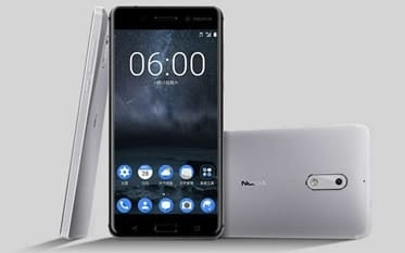 nokia 6 silver flash