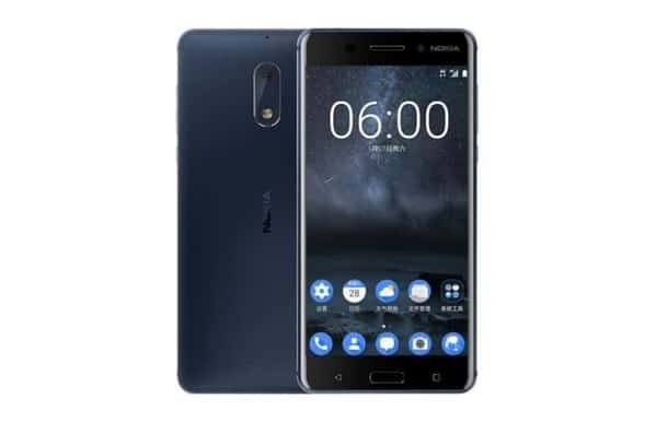 nokia 6 temperd blue