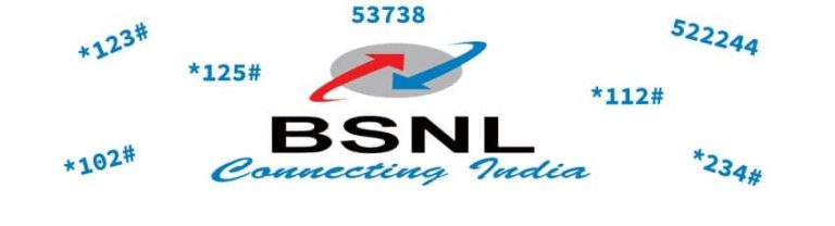 BSNL Balance Check, USSD Codes List For 3G/4G Data, Offers