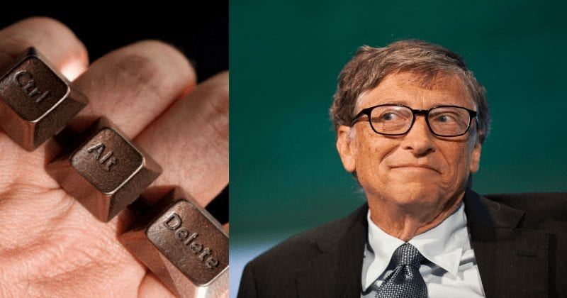 Bill Gates Regrets And Comments On The Ctrl-Alt-Del Key- Bloomberg Forum