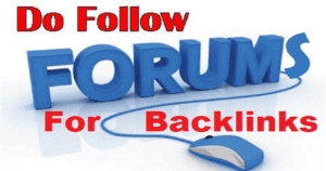 List of High PR DoFollow Forums For Bloggers to Increase Backlinks [2017]