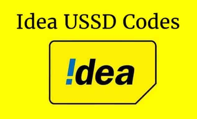 Idea Balance Check, Data Usage 3G/4G, Recharge Offers | Idea USSD Codes 2019 (Updated)