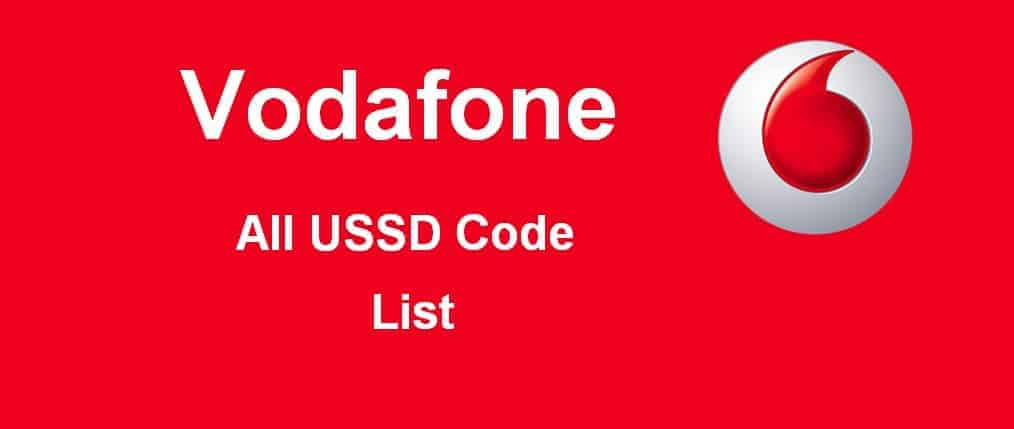 Vodafone Check balance, Data Offers | USSD Codes List 2019 (Updated)