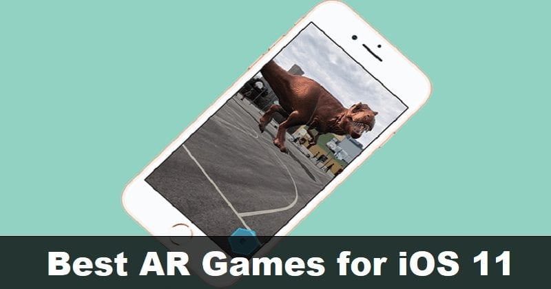 9 Cool AR Apps And Games You Can Download on iOS 11