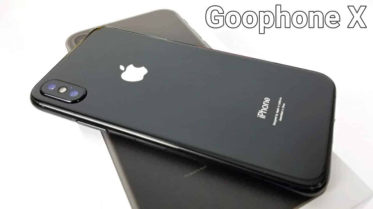 Meet Goophone X - An iPhone X Clone Which Costs Just Rs 6500