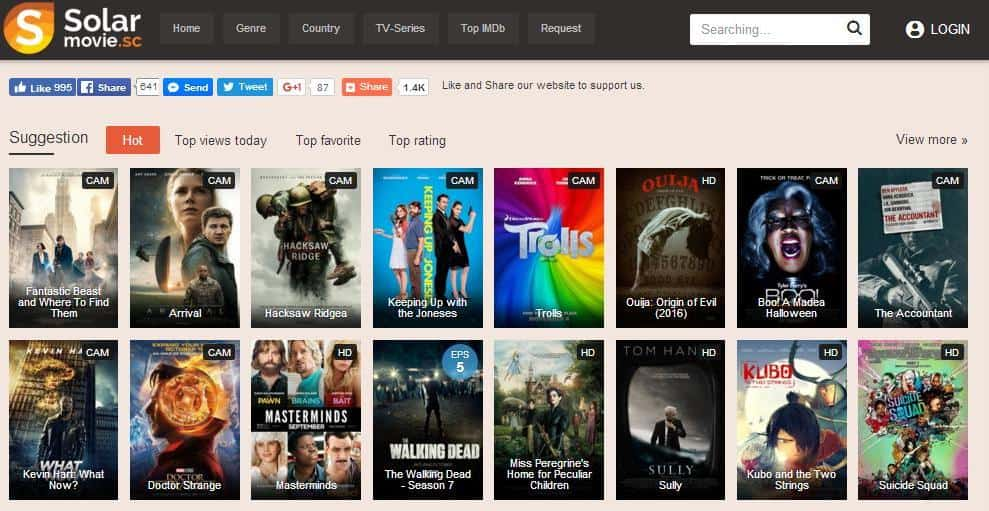 best free movie websites online