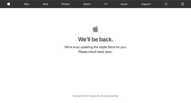 iphone-x-apple-store-goes-down