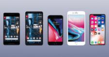 Google-Pixel 2-Vs-iPhone 8-samsung-galxy-s8-LG-G6