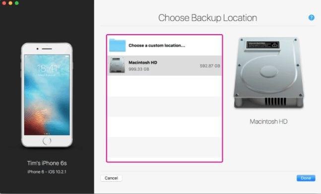 choose-backup-location