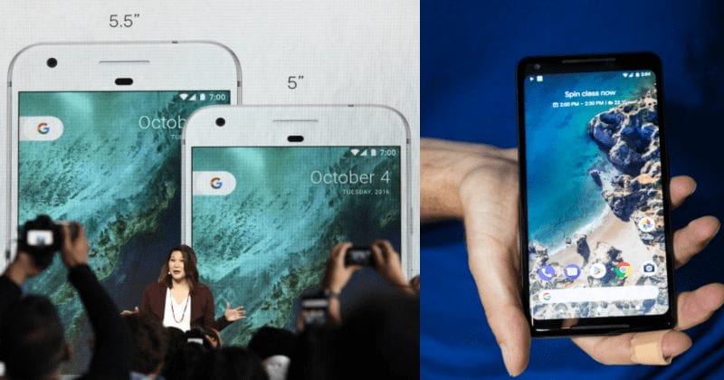 Google Officially Launches Pixel 2 And Pixel 2 XL At 'Made By Google' Event