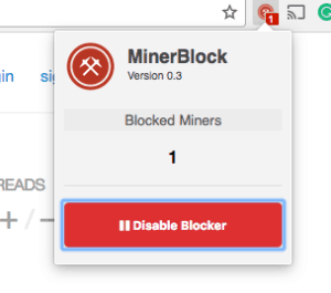 minerblock-extension