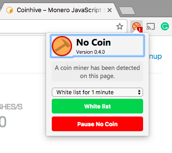 no-coin-extension