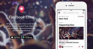 Facebook Relaunches Events App as 'Facebook Local'